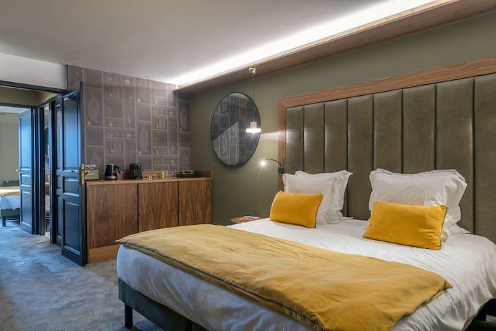 Family room vue pistes Hôtel Fahrenheit Seven