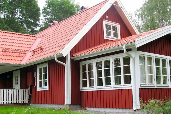 6 person holiday home in VISSEFJÄRDA