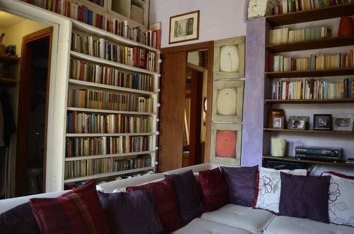 librerie in soggiorno