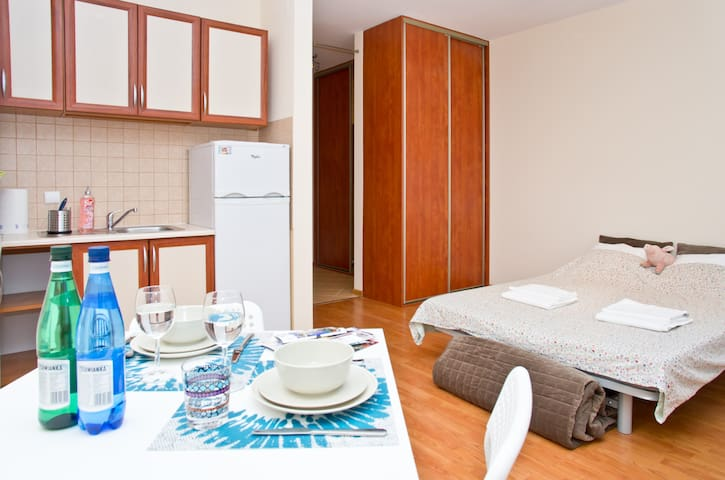 Great studio 10 minutes to Old Town - Warsaw - Apartment