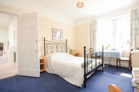 En suite seaside double room - North Berwick - Casa