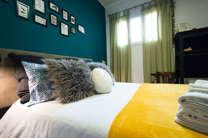 Private Room 300 meters from the historic district