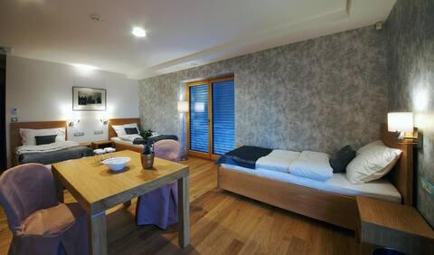 ☆Triple Room at Pan Restaurant☆w/living room,AC,P