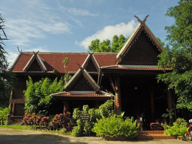 Tradional Teakwood House(泰国稀有柚木房子) - Chiang Mai - Daire