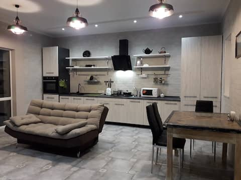 Two-bedroom House near VODOLEY  in Mykolayiv