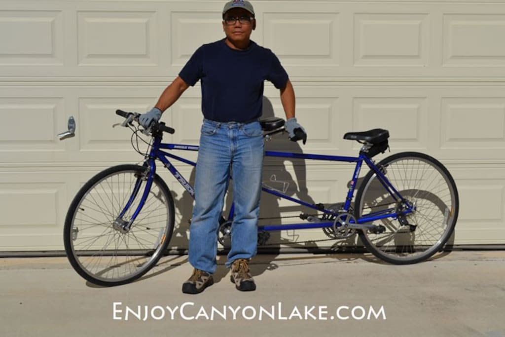Get your work-out bike-riding the Hill Country of Texas.