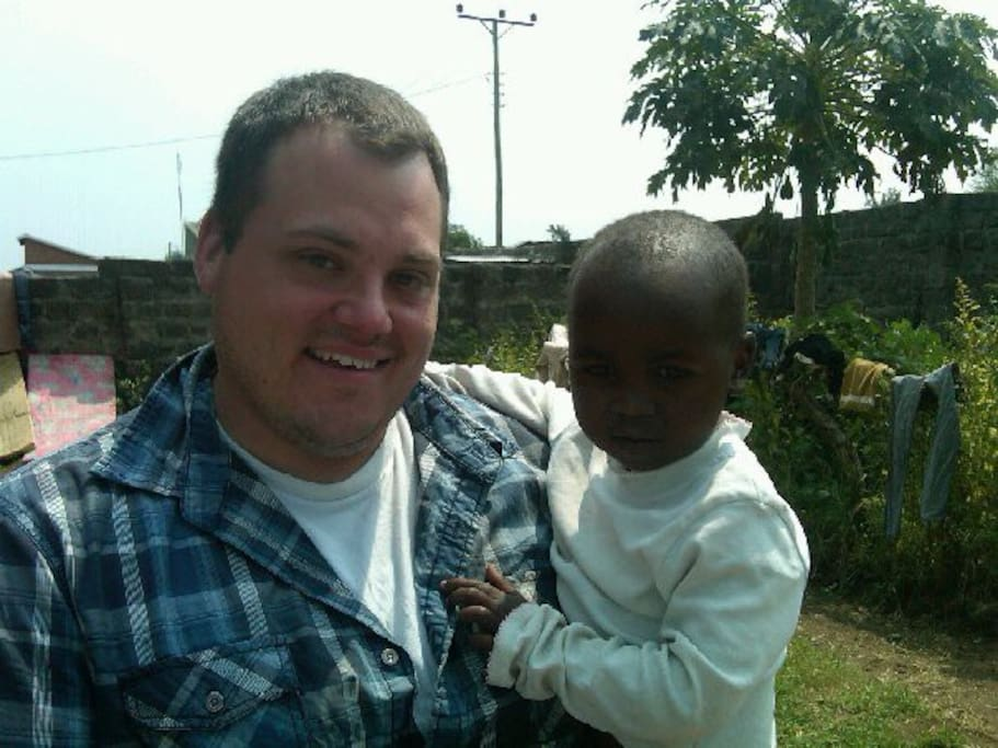 This is me, Phill with a friend at an orphanage we volunteer at.  The IV can be a place for relaxing or a place for volunteering.  Whatever you wish can be accommodated by the dedicated IV staff.