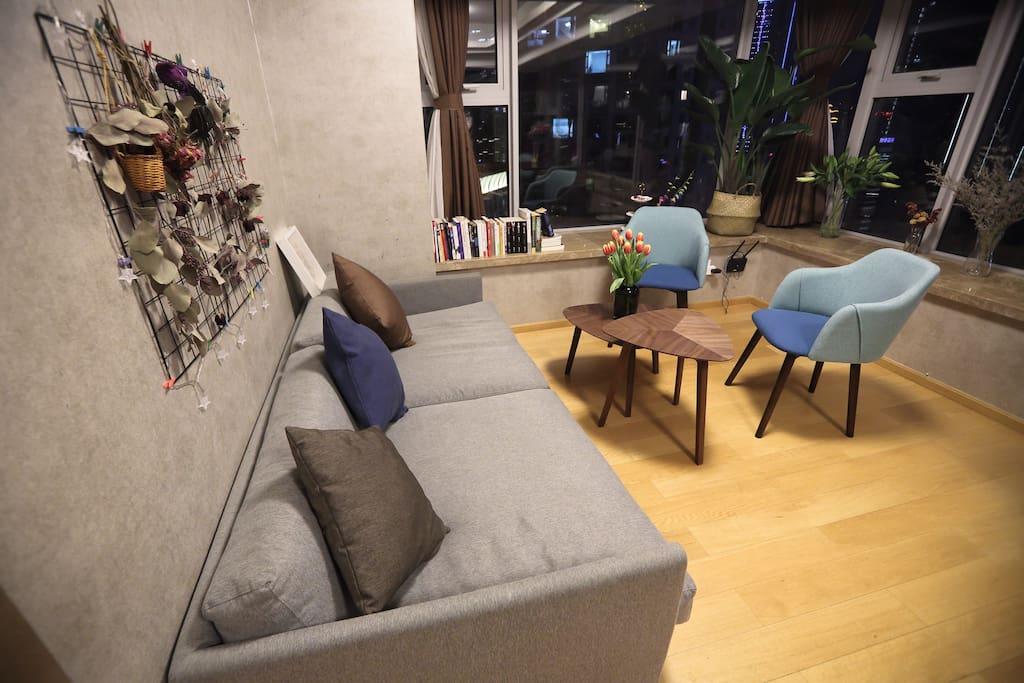Tea corner 阅读区