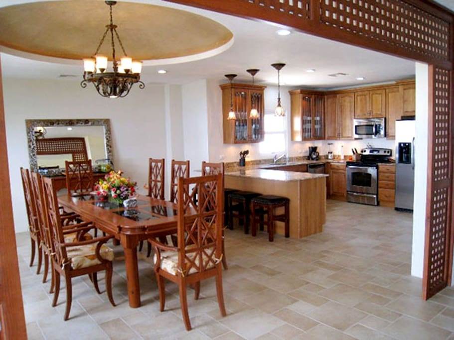 Dining Room, Breakfast Bar, and Gourmet Kitchen