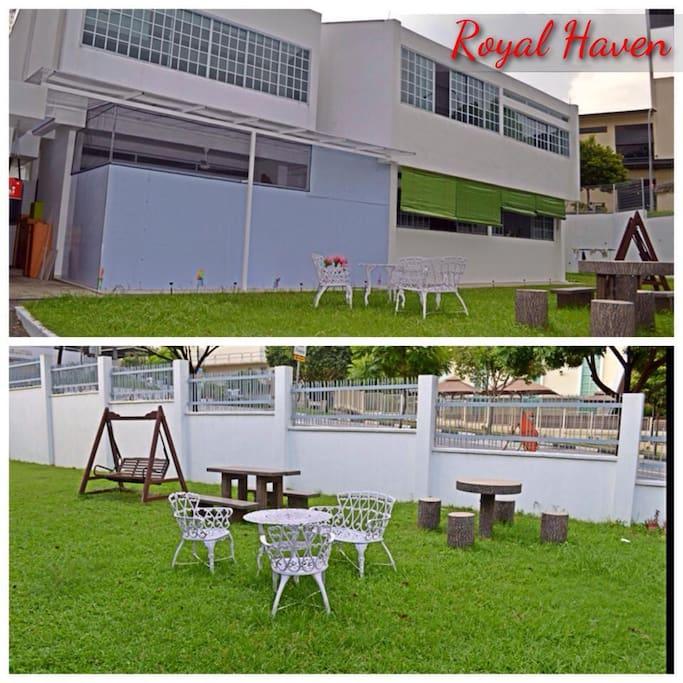Royal Haven: Empress House your castle! Garden View! Sit-out area.