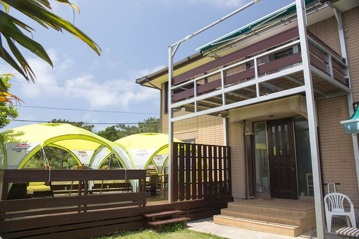 You can enjoy the Gramping style vacation. - Ishigaki-shi - Guesthouse