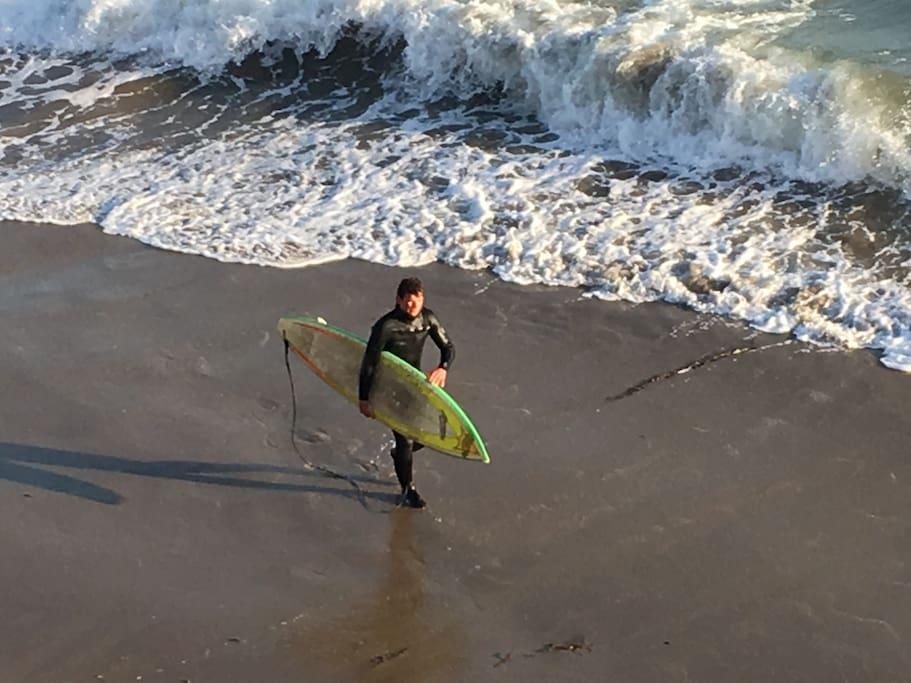 Surfing in November