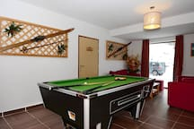 Have some fun with your group and play billiards at the end of a long day on the slopes.
