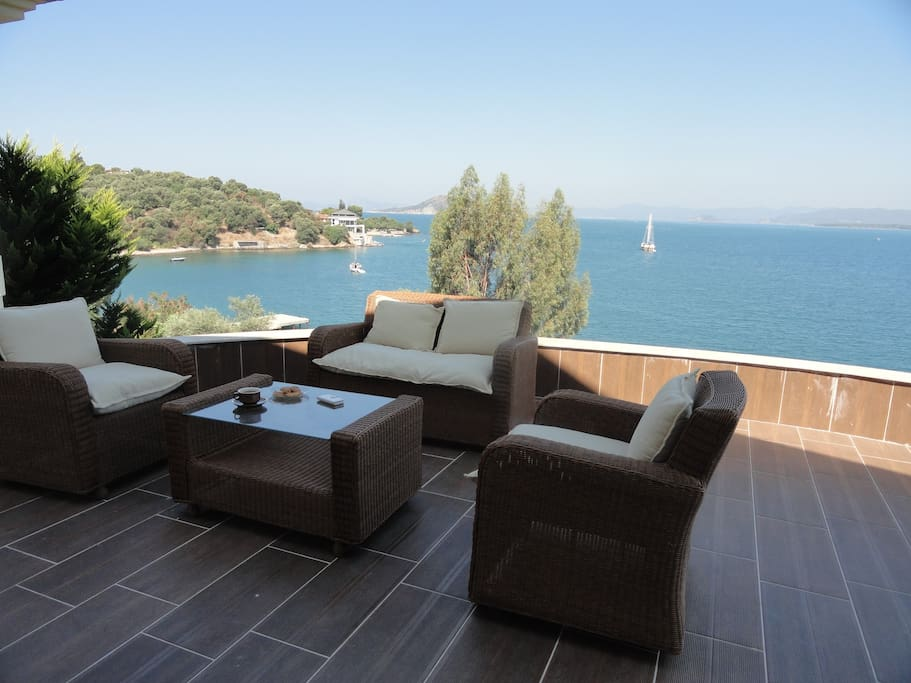 terrace of 50m2 with panoramic view
