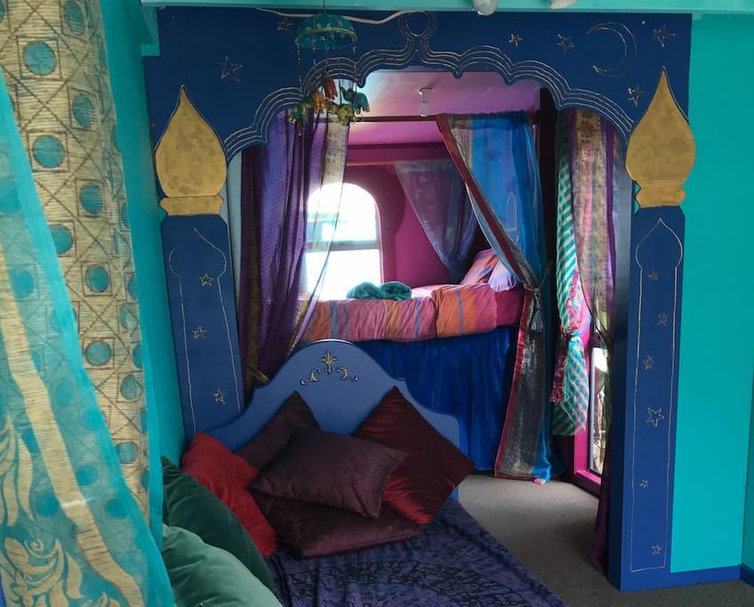 Arabian Nights room