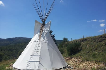 Tipi 5 places - Rochepaule - Tipi
