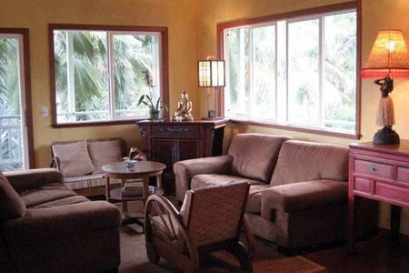 Jade Lily-Stream Front Kayak Home! - Kilauea - House