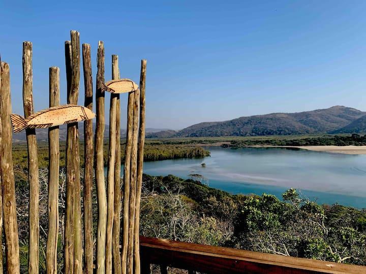Exhale at Mngazana Estuary