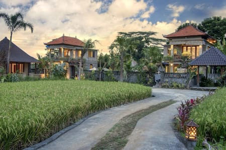 #8 NEW 1BR Cottage w/Ricefield view - Tegallalang - Villa
