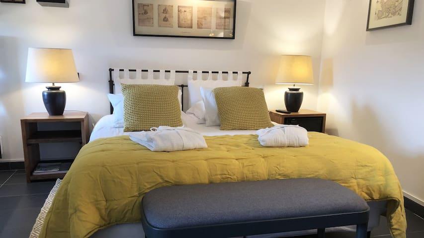 L'Intime - Chambre double avec terrasse privée