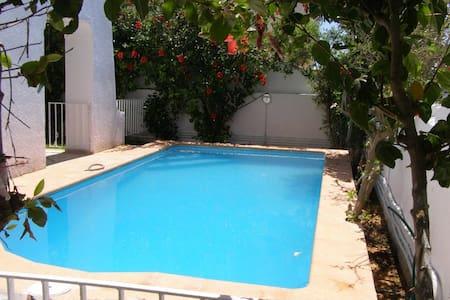 RDC de Villa avec piscine - Nabeul