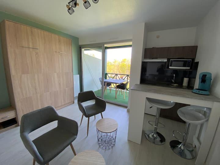 Joli studio plein centre Cambo-les-Bains