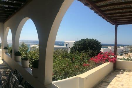 Amazing View Villa Nafsika - Laouti Skyladar Tinos - Laouti - House