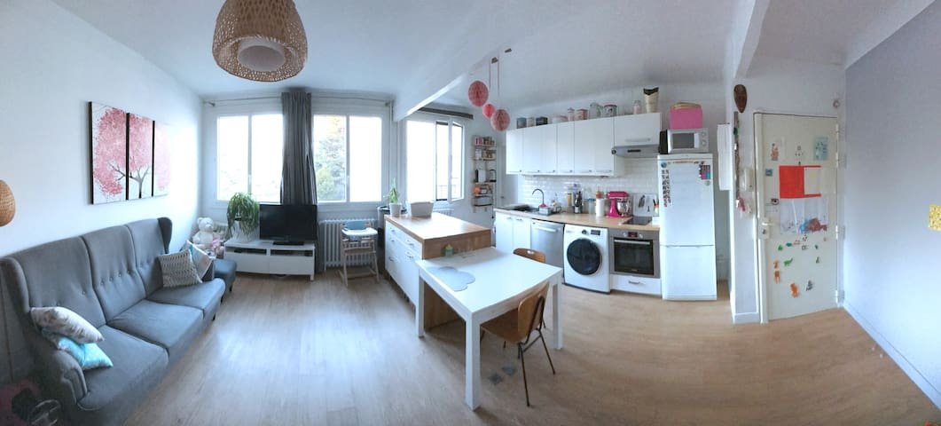Peaceful flat 30min to Paris - Louveciennes - Apartamento