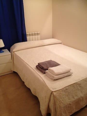Habitacion individual con cama doble