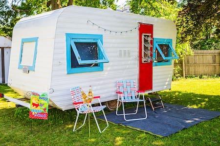 Peggy Sue- A Vintage Campers Dream
