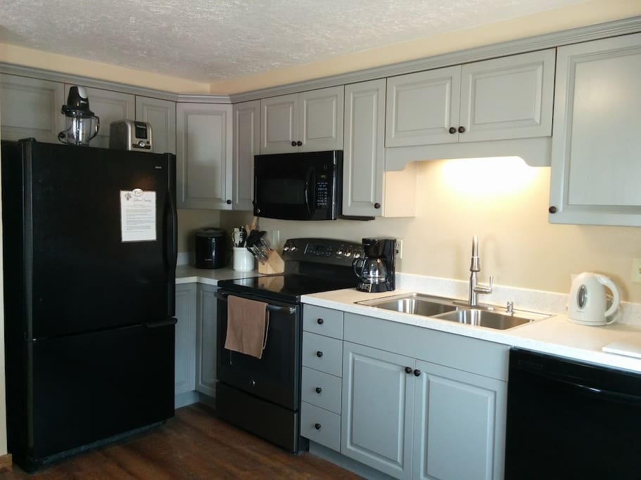 "We'll share the newly-renovated kitchen. ""Well equipped and has everything we need."" - Hilit."