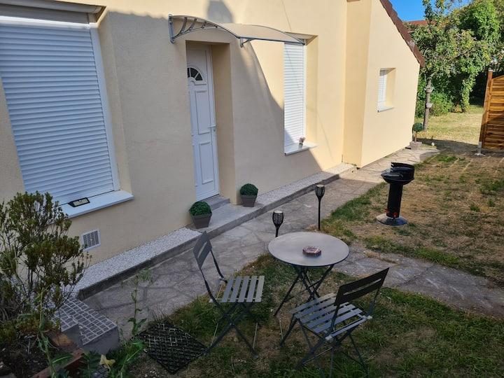 Maison proche Paris, cdg, parc exposition, disney