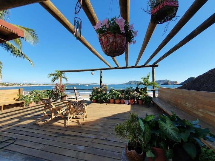 CASA EN LA PLAYA, Casa Paulina frente al mar