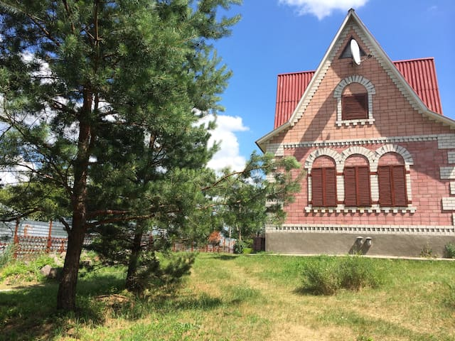 Дом на берегу реки - хутор Новая Гребля - Talo