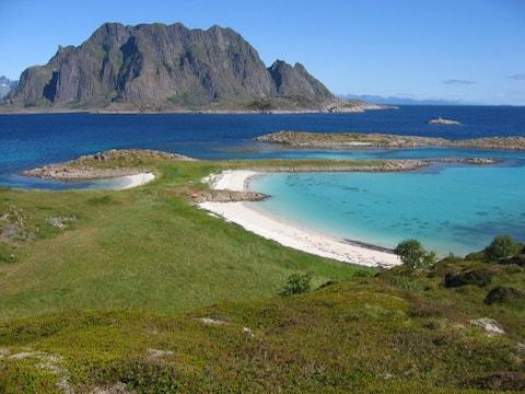 Nordlandshus på idylliske Skrova
