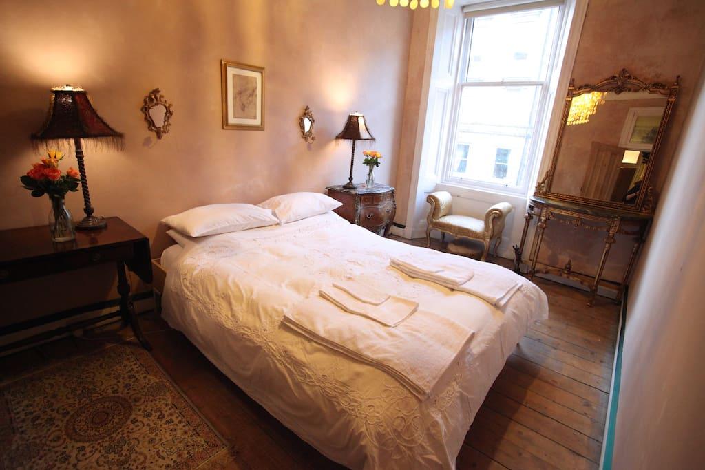 Bedroom 1, from the door.
