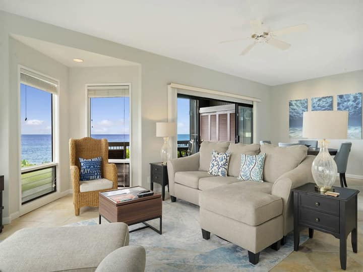 Primo Views+Upgrades! Luxe Living w/Modern Kitchen, WiFi, Lanai, Laundry, TV Kanaloa 3101