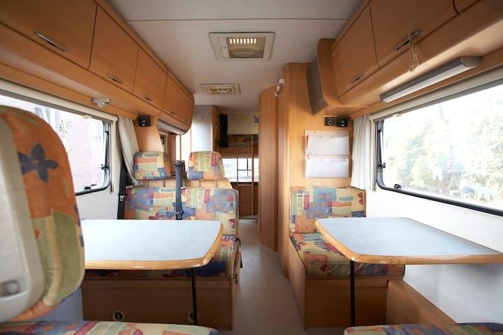Hymer Wohnmobil vor unserer Haustür - Xanten - Camper/RV