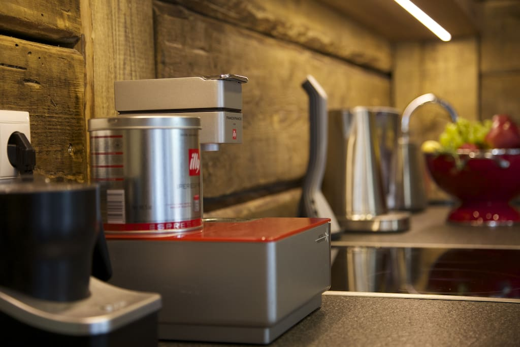 Illy coffee maker