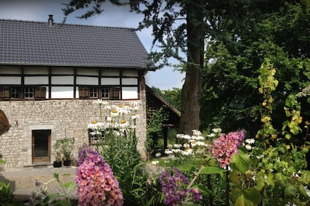 Idyllisches historisches Ferienhaus, 2-6 Pers. - Lontzen
