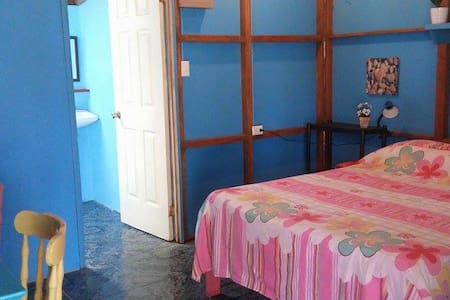 Blue By The Sea - Beach front Apartment! - Puerto Viejo