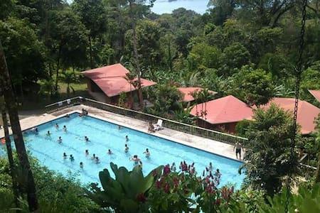 Mar y Selva, Puntarenas, Sleeps 54--your resort! - Uvita - Huvila