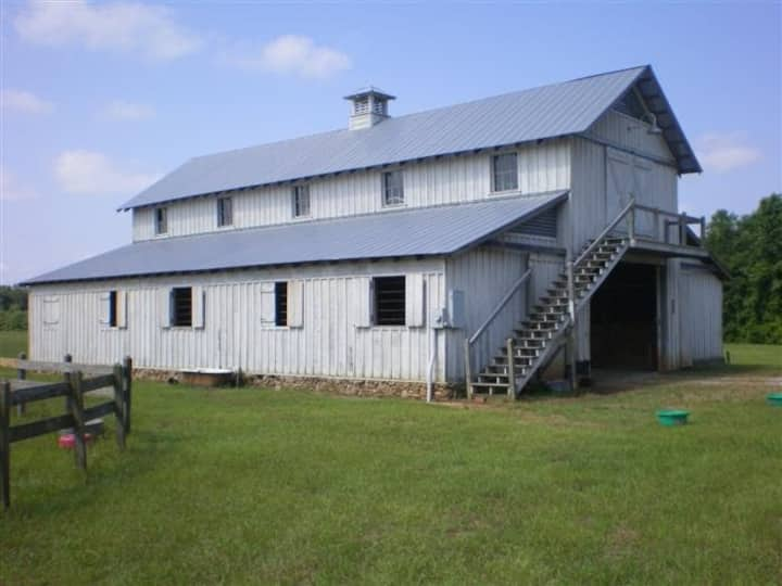 Barn Loft 1200 sq feet. Entire top floor.