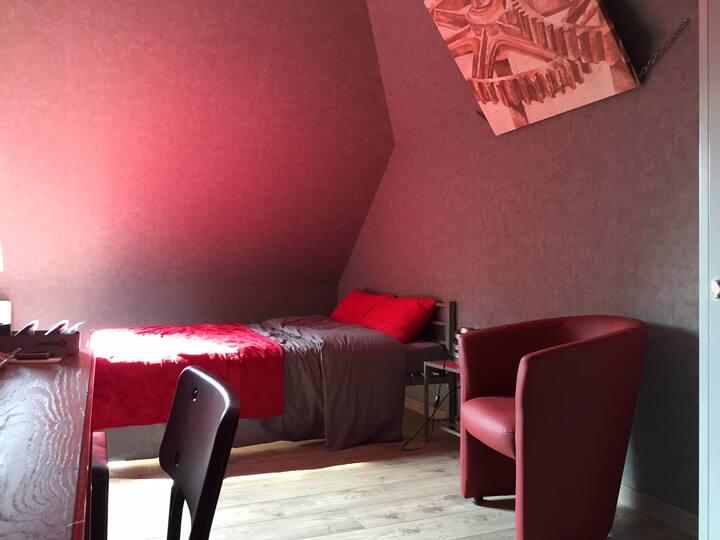 24H Le Mans Maison Arnage Chambre n°2