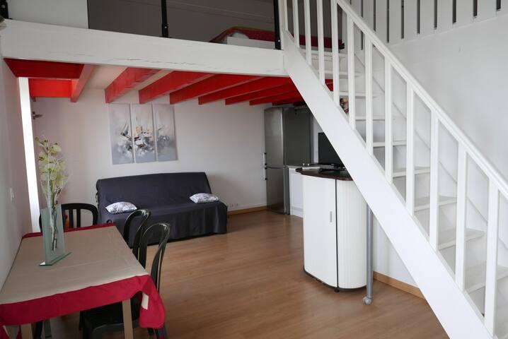 Studio à Cavignac - Entre Bordeaux et Angoulème