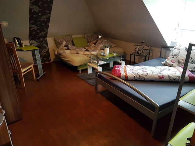 Schönes privates Zimmer Nr.1/Monteurzimmer+Garten