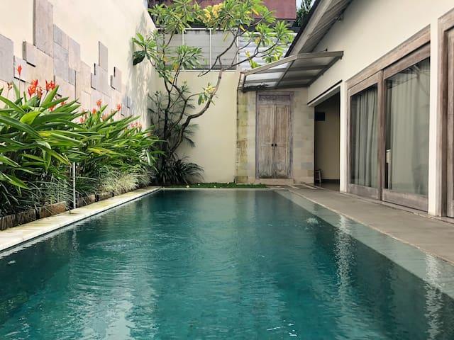 1BR Private Pool Villa in Canggu, Bali