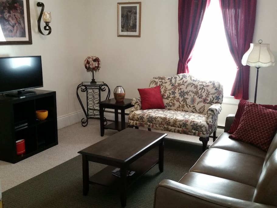 """Living Room """"All About Location in Federal Hill!"""""""