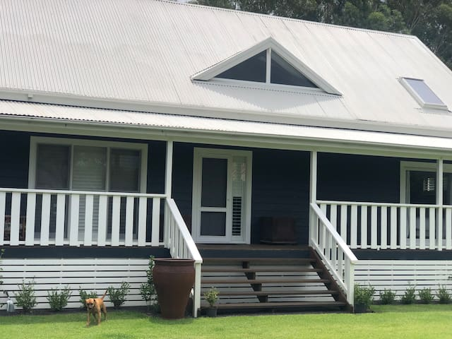 hawkesbury river hamptons style farm house