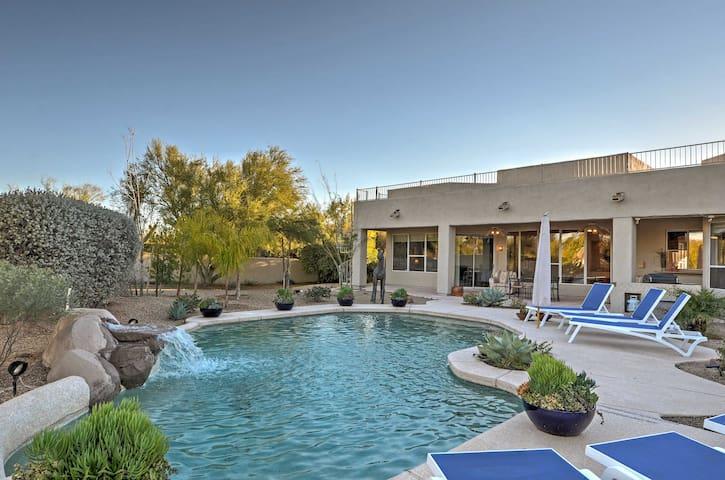 Scottsdale Home w/ Resort-Style Pool & Mtn. Views!
